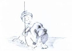 Concept Art_Boy & Dog 2