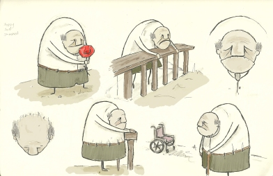 old man colour designs1