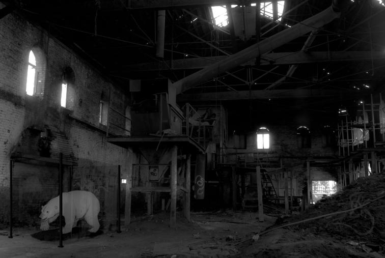 Stuffed bear_Factory pic